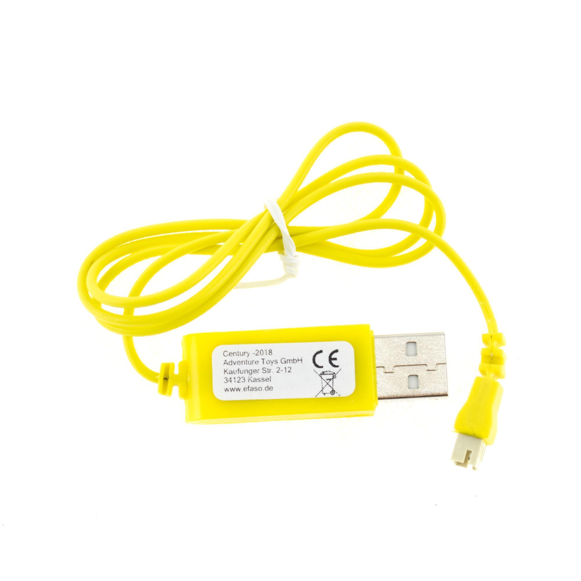 efaso Ersatzteile 7,2V USB-Kabel mit Tamiya Stecker