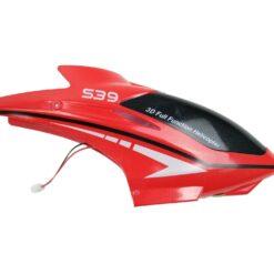 \LS-WXL535DatenBilder RCS39H Fly EagleErsatzteile S39bearbeitetS39-01 Headcover-red, Haube rot.jpg