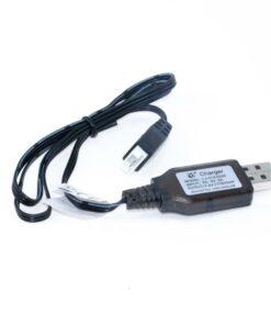 43447 - USB-Ladegerät 7,4V Balancer Stecker