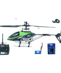 Feilun FX078  4-Kanal 2,4GHz Single-Rotor Helikopter RTF + AA-Batterien für die Fernsteuerung - 1