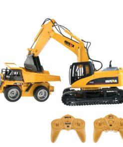 \LS-WXL535DatenBilder RCNutzfahrzeugeBaustellensetsBaustellenset 1 (Bagger + Muldenkipper)Baustellenset 1 - 01 - Hauptbild mit Fernsteuerung.jpg