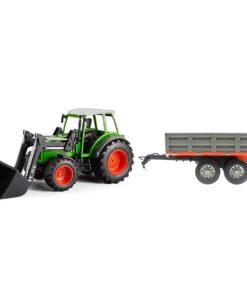 Traktor mit Kippanhänger